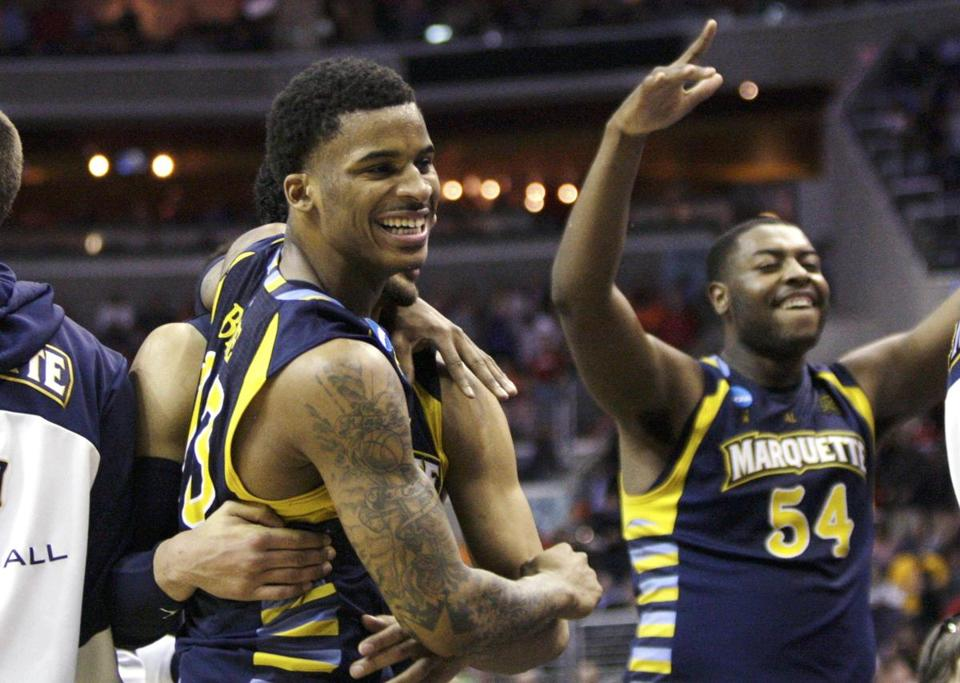 Vander Blue helped Marquette knock off Miami.