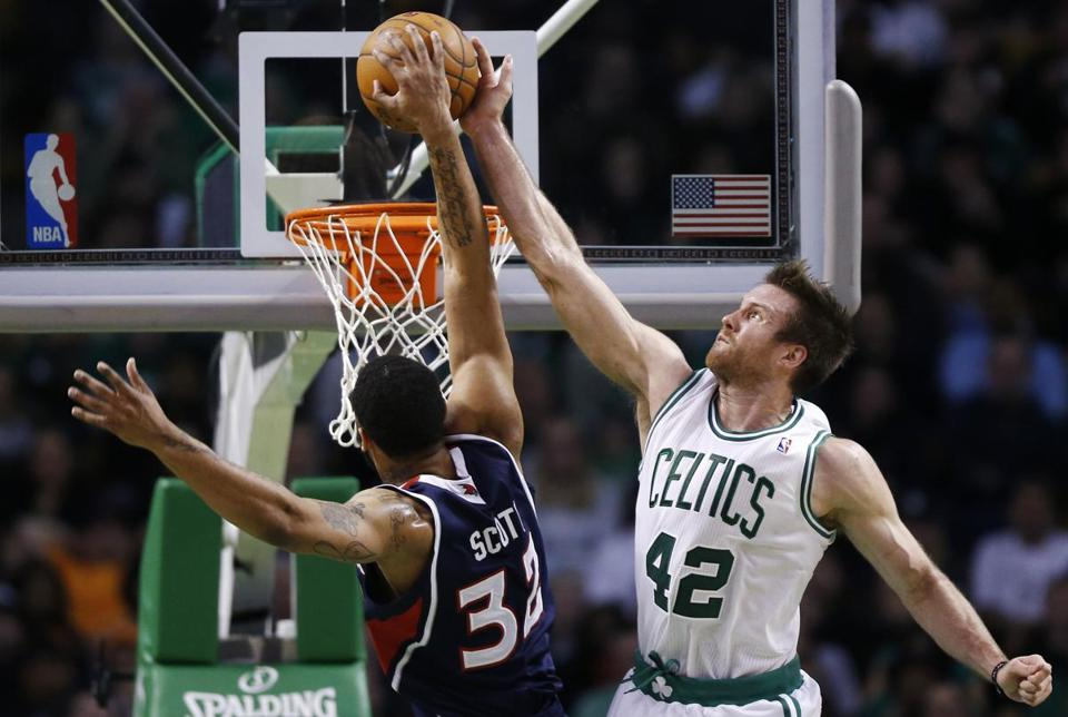 Forward   Shavlik Randolph has grabbed 36 rebounds in 81 minutes and has made the Celtics look as if they snagged quite a find.