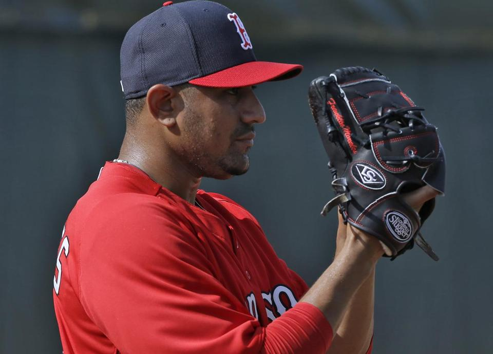 The Red Sox hope to use Franklin Morales as a starter once he recovers from a back injury.
