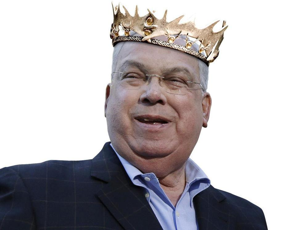 "A king of sorts: Like a character in ""Game of Thrones,"" Mayor Tom Menino has a talent for generating loyalty."