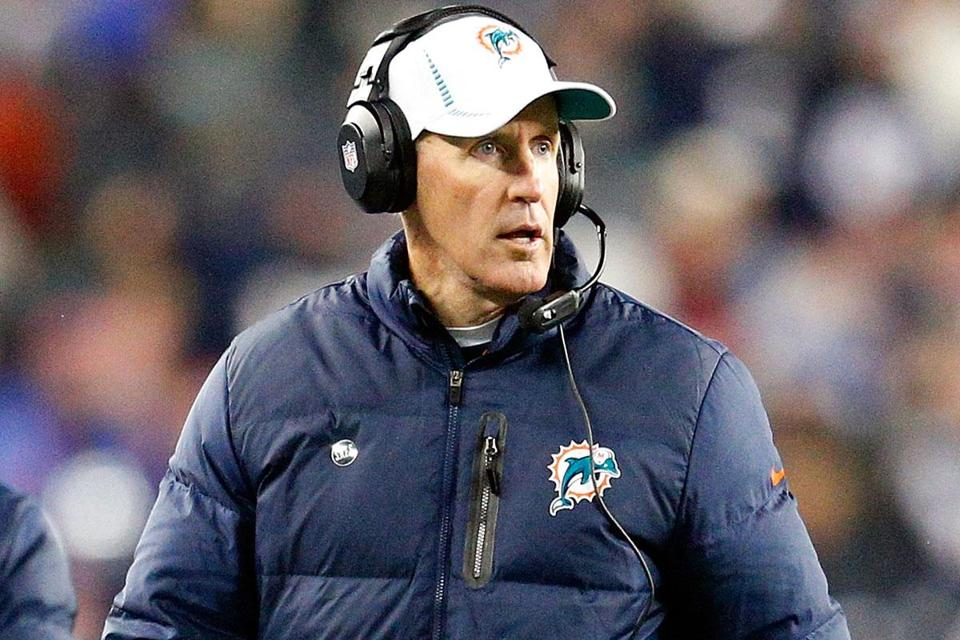 Dolphins coach Coach Joe Philbin is in new territory.