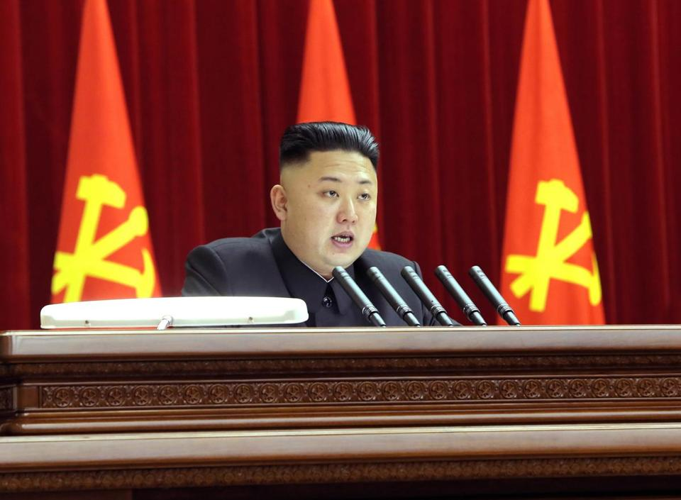 Kim Jong Un said this week that N. Korea's nuclear arms were for defensive purposes.