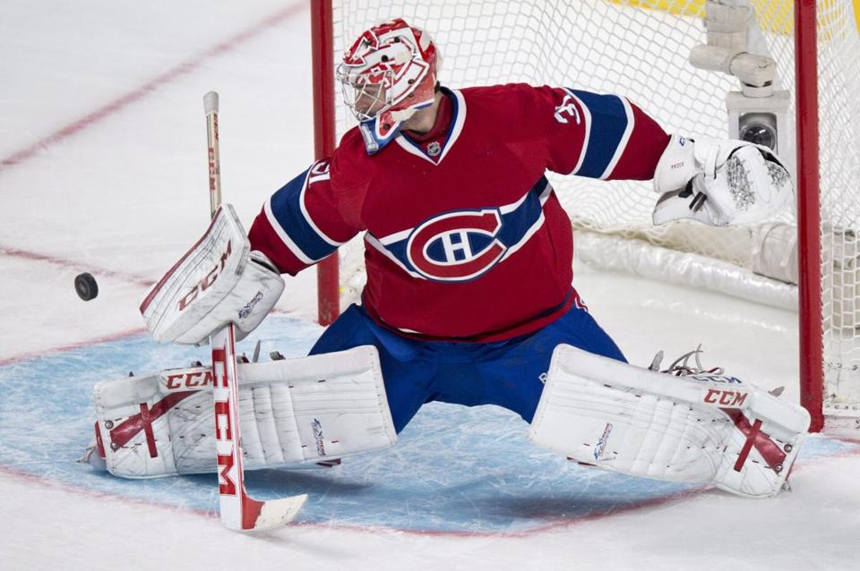 Carey Price made 18 saves in his 300th NHL game.