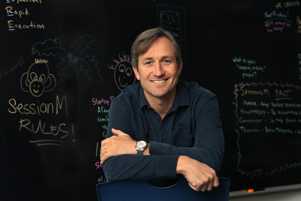 Lars Albright, co-founder and CEO of SessionM.