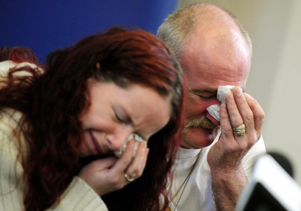 Mairead and Mick Philpott cried at a news conference last May while talking about a fire at their home in Derby, England, that claimed the lives of six children.