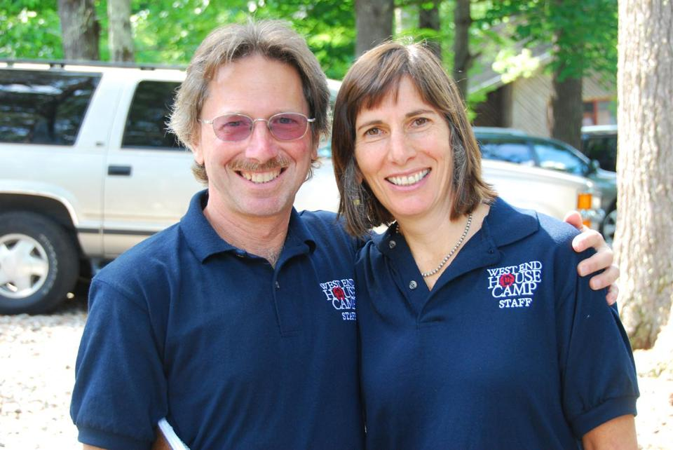 Steve Lepler and his wife, Ramie.