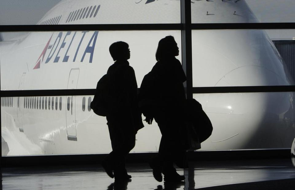 Delta said gains in Latin America were partly offset by a weakening yen in Asia.