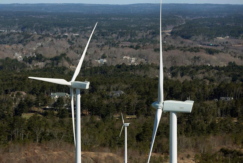 "One of the owners of the Kingston turbines said wild claims of the effects of flicker are an example of the ""climate of fear"" created by political opponents of wind power."