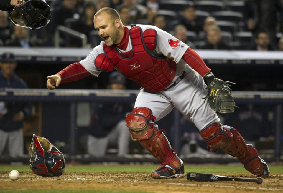 David Ross's reputation as a strong defensive catcher was reinforced vs. the Yankees.