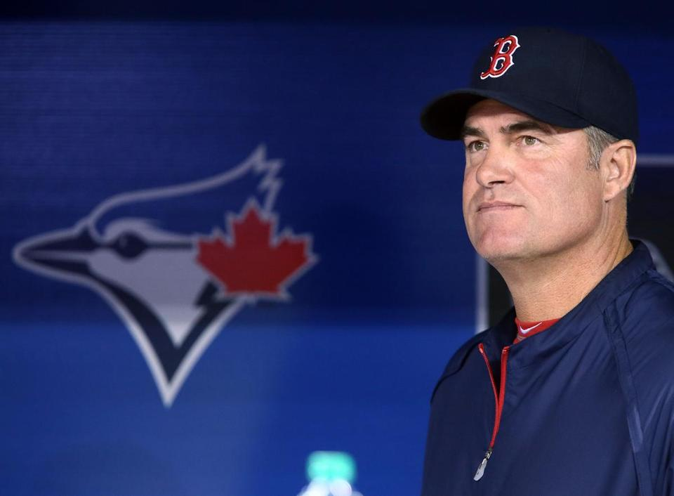 Red Sox manager John Farrell faced heavy scrutiny in his return to Toronto. Starting in batting practice, the former Blue Jays skipper heard it from disgruntled fans, and the derision carried on throughout Friday night's series opener at Rogers Centre.