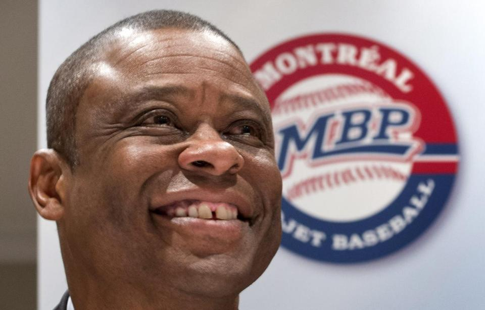 Former Montreal Expos baseball player Warren Cromartie is part of an effort to bring back Major League Baseball to Montreal.