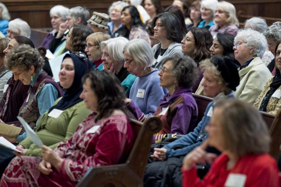 The interfaith book group, Daughters of Abraham, met in Cambridge to recall the origins of the group designed to better understand the beliefs of Christians, Muslims, and Jews.