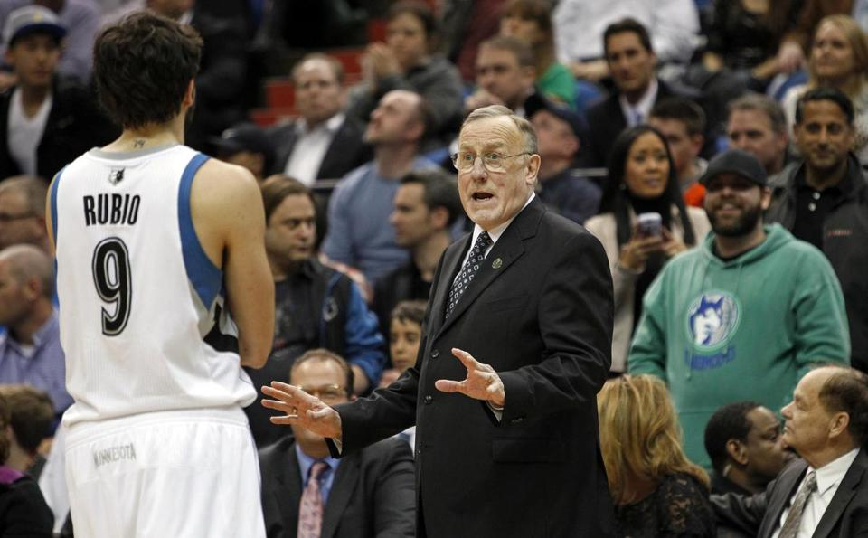 Timberwolves head coach Rick Adelman is 1,000-703 in his 22-year career.