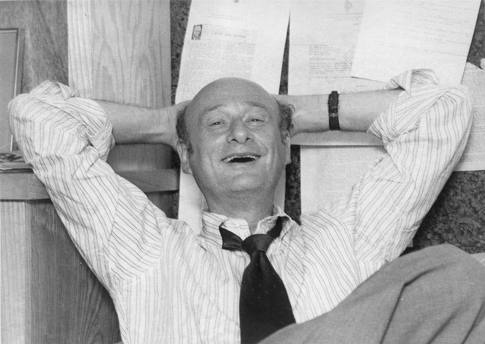 From Neil Barsky's documentary: Ed Koch in the office of his campaign manager David Garth in September 1977.