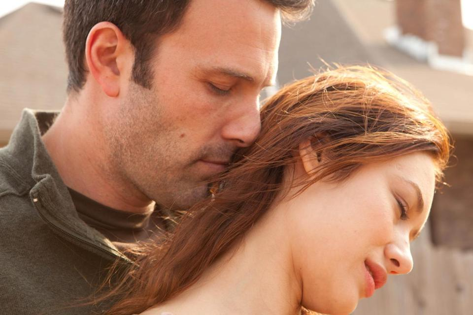"Ben Affleck and Olga Kurylenko are a couple whose relationship over the years is the focus of Terrence Malick's new movie, ""To the Wonder."""