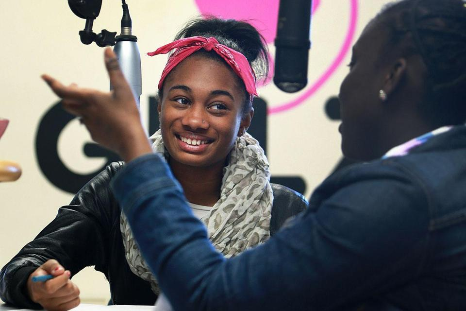 Girlz Radio in Dorchester has a role in the campaign for young women.