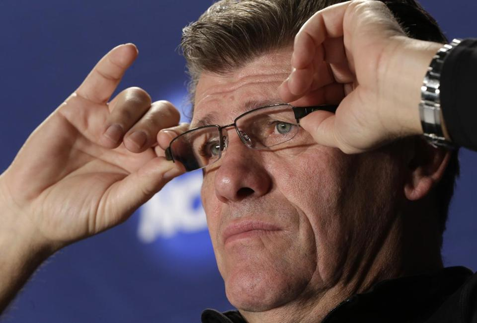 Connecticut head coach Geno Auriemma is eyeing his eighth title.