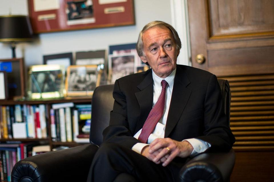 With his pathway toward more power and responsibility in the US House uncertain, Edward Markey is trying to make an unprecedented transition to a seat in the Senate.