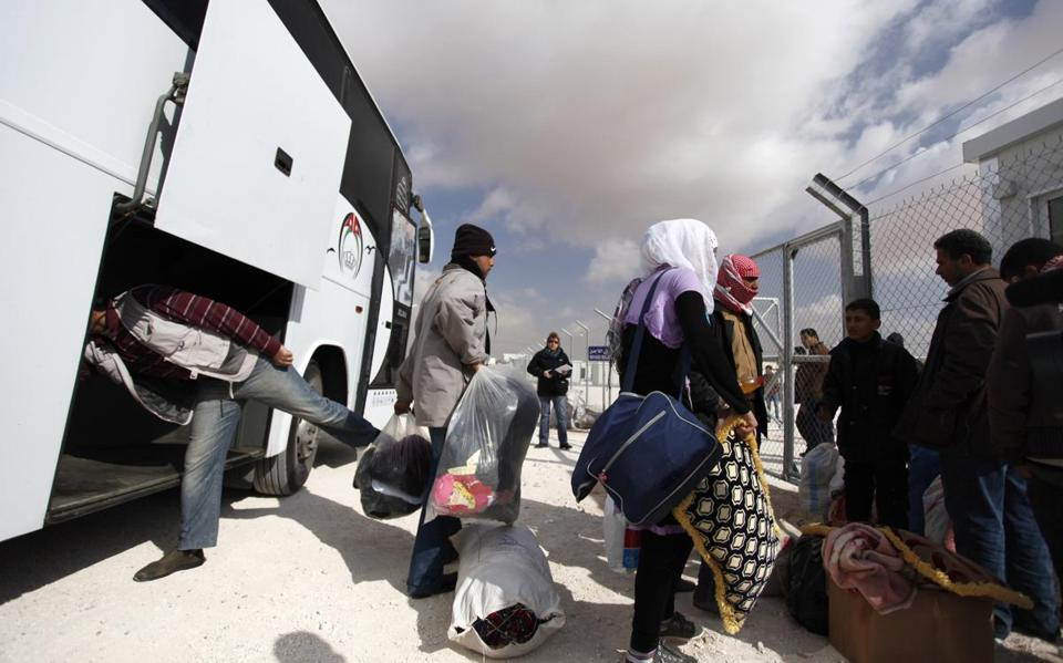 Some 1,500 to 2,000 Syrian refugees have been pouring into Jordan daily, seeking escape from the civil war.