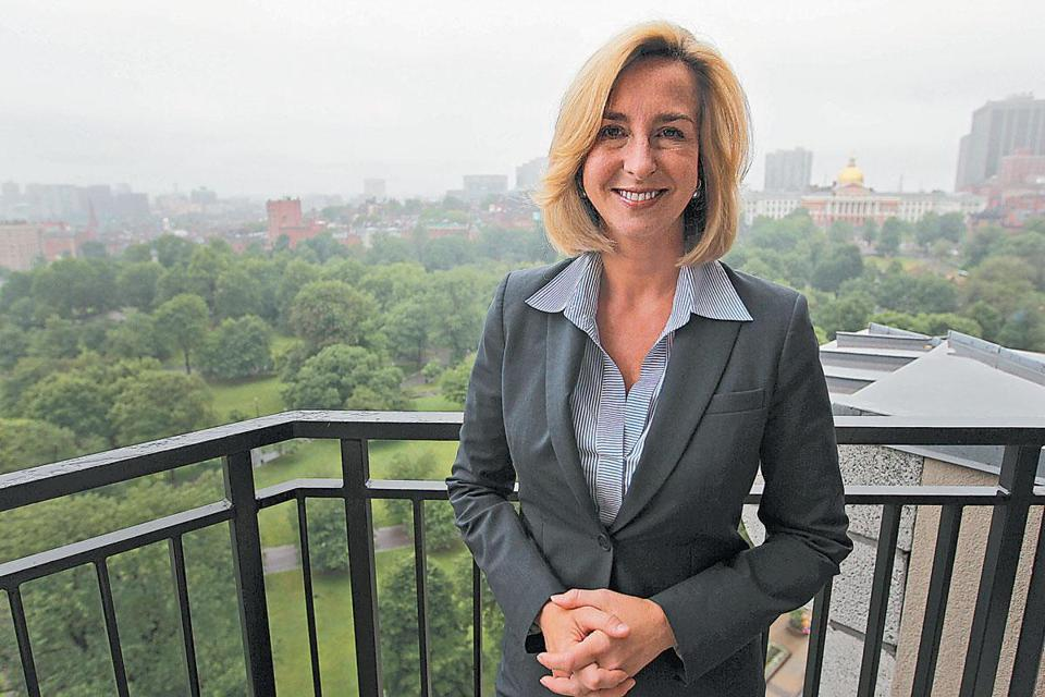 Kerry Healey cites her roles in politics, nonprofits