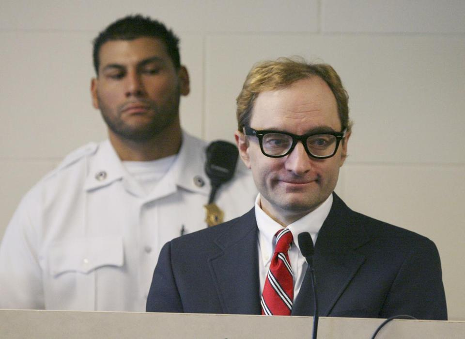 The man who calls himself Clark Rockefeller at his arraignment on kidnapping charges on Sept. 29, 2008, in Boston.