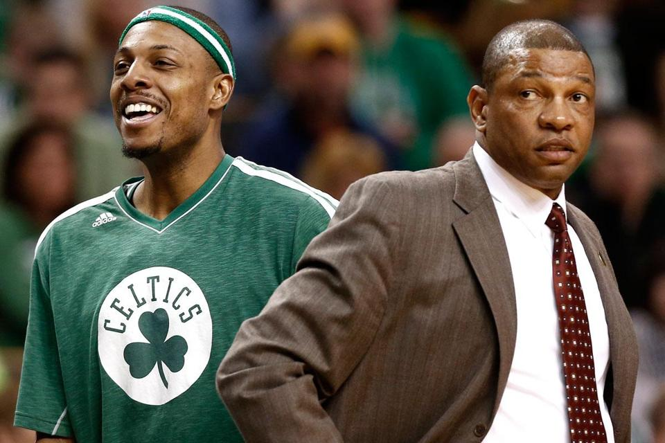 The Celtics have beaten all of the six seeds ahead of them, with coach Doc Rivers patching together lineups because of injuries.