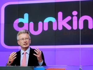 Nigel Travis is chief executive officer of Dunkin' Brands Group, the parent company of Dunkin' Donuts and Baskin-Robbins.