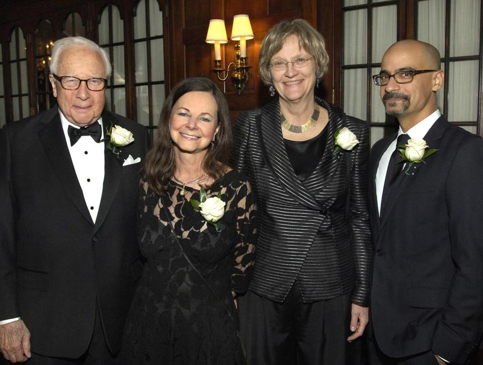 From left: David McCullough, Geraldine Brooks, Drew Gilpin Faust, and Junot Diaz.