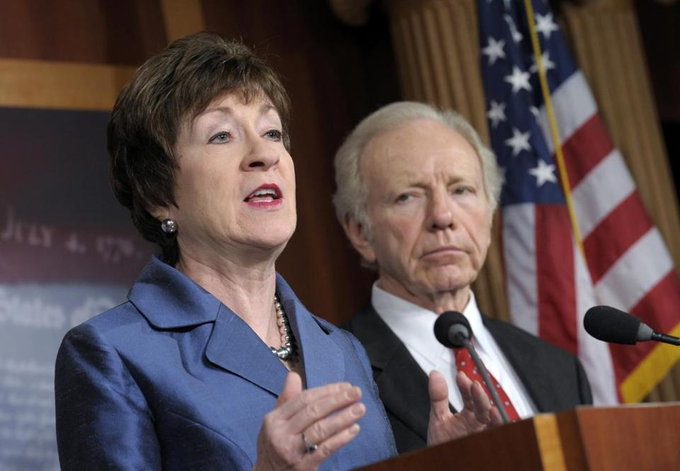 Senator Susan Collins said she is convinced Americans have grown less wary of the threat.