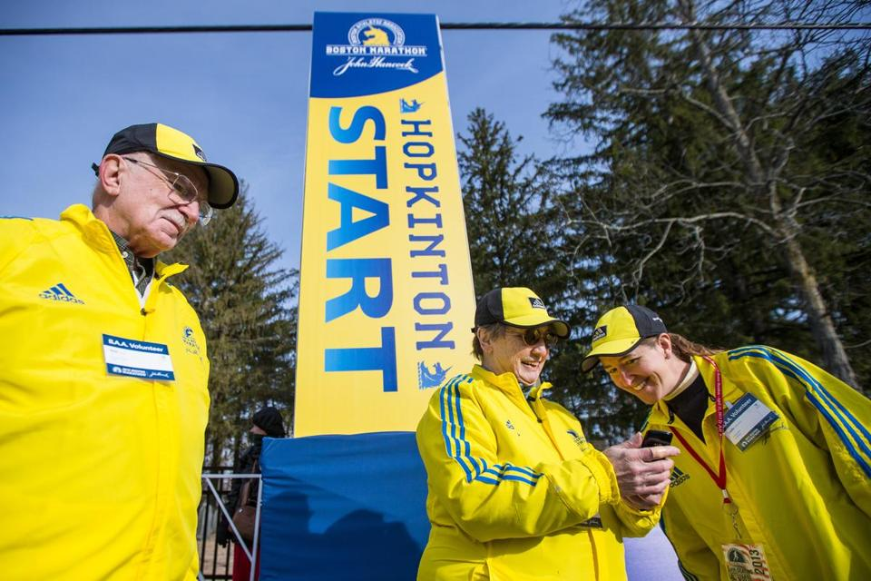 Runners who were unable to finish the 2013 race will be able to go back to the Boston Marathon start line in Hopkinton next year.