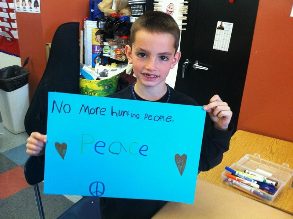 Martin Richard, via Boston Globe