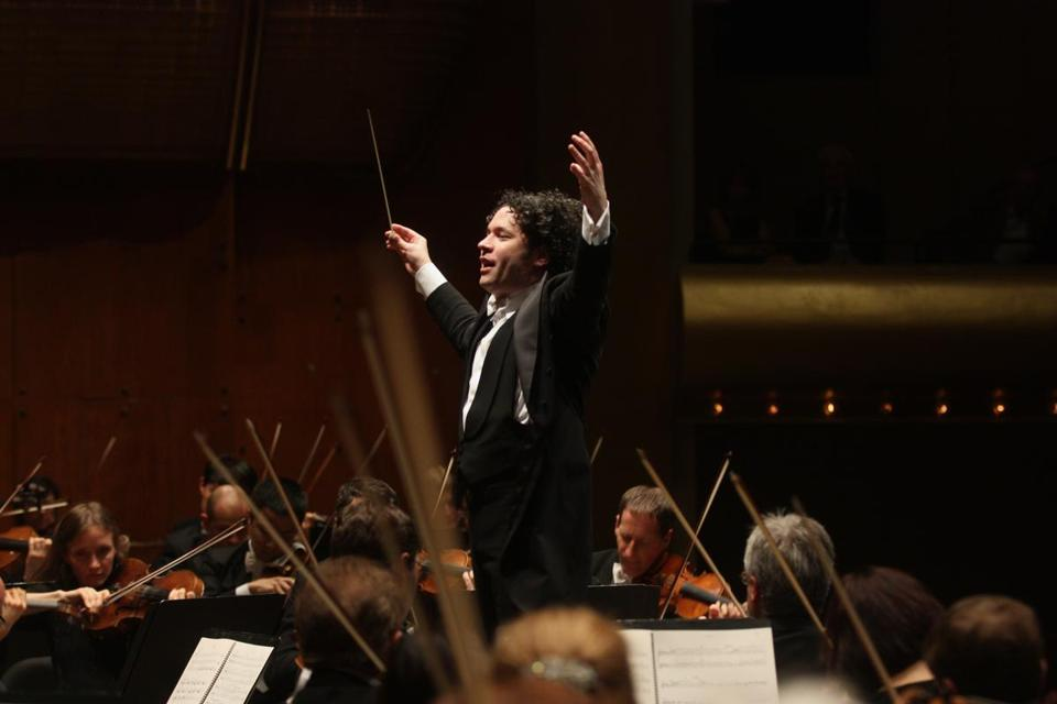 Conductor Gustavo Dudamel and the Los Angeles Philharmonic will make a rare Boston appearance at Symphony Hall on March 23.