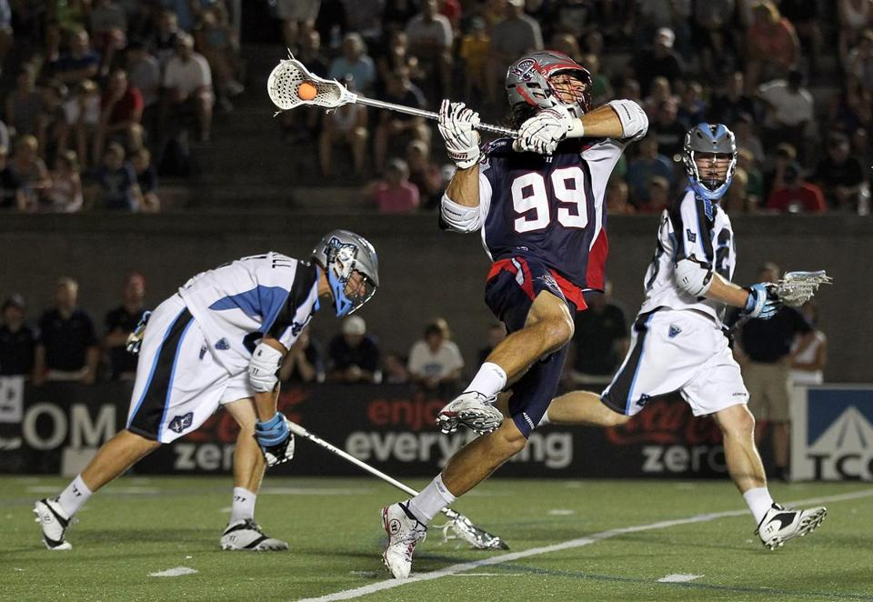 The Cannons' Paul Rabil was Major League Lacrosse's Offensive Player of the Year in 2012.