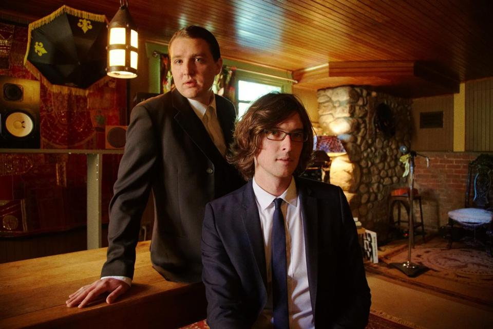 "The Milk Carton Kids (Kenneth Pattengale, left, and Joey Ryan) have an album out called ""The Ash & Clay."""