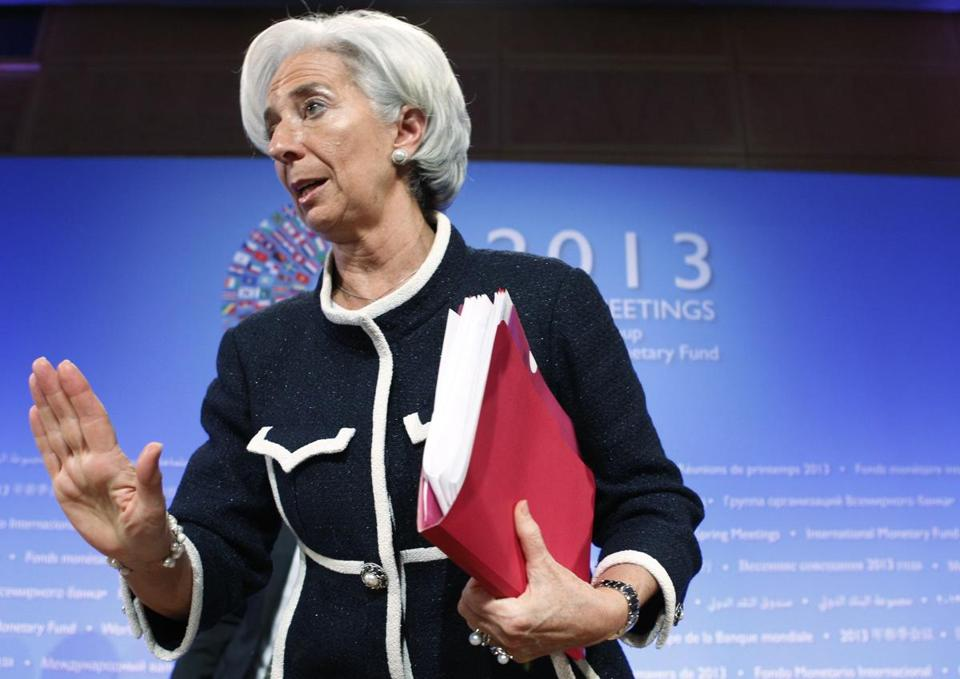 Christine Lagarde is facing scrutiny over her handling of a scandal when she was France's finance minister.