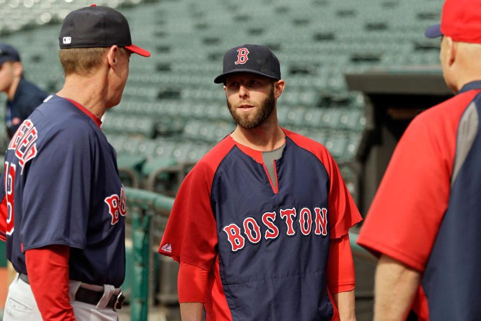 Dustin Pedroia is thinking of Red Sox fans.
