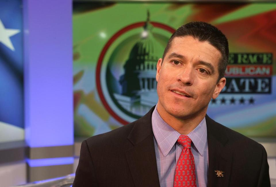 Republican candidate for US Senate Gabriel E. Gomez.