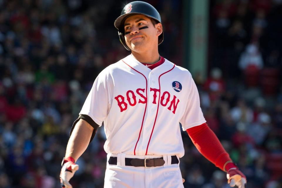 After his groundout in Game 1, Jacoby Ellsbury — like many of his Red Sox teammates — was left frustrated Sunday.