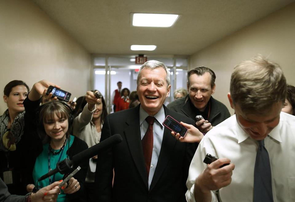 Montana's Max Baucus is retiring after 36 years in the Senate.
