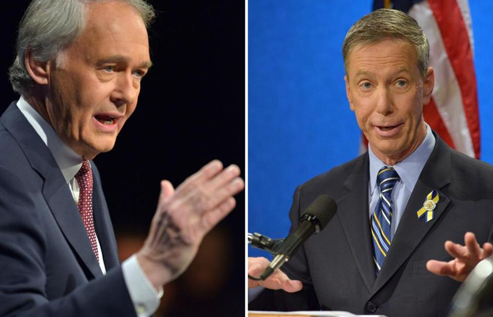 "Representatives Edward J. Markey and Stephen F. Lynch dropped the gloves Tuesday night during their final debate in Springfield. Polls have shown Markey as the front-runner, but a confident Lynch told reporters ""I'm going to win."""