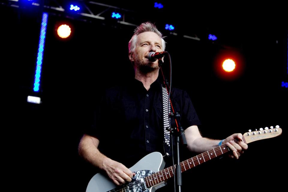 Billy Bragg (pictured last year in Norway) played a two-hour, 20-song set at the Berklee Performance Center on Sunday.