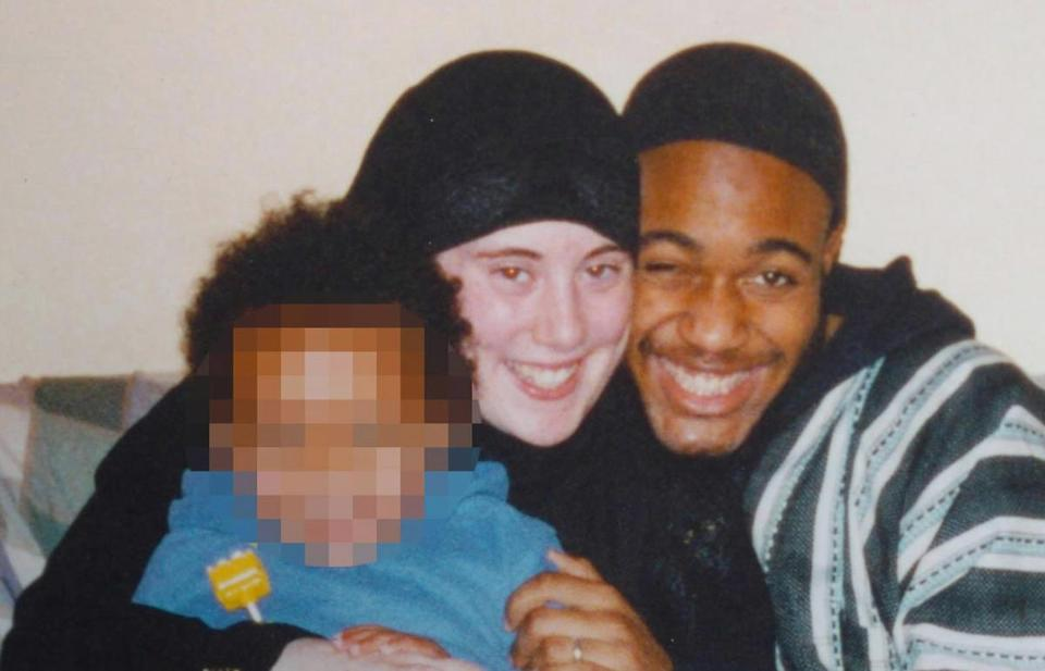 London suicide bomber Germaine Lindsay smiled with his wife and their young son.