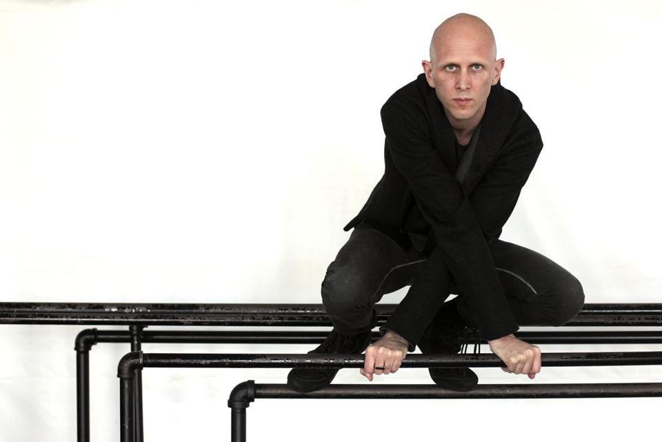 """I see working with the body almost like calligraphy, or graphic sketches,""  says British choreographer Wayne McGregor."
