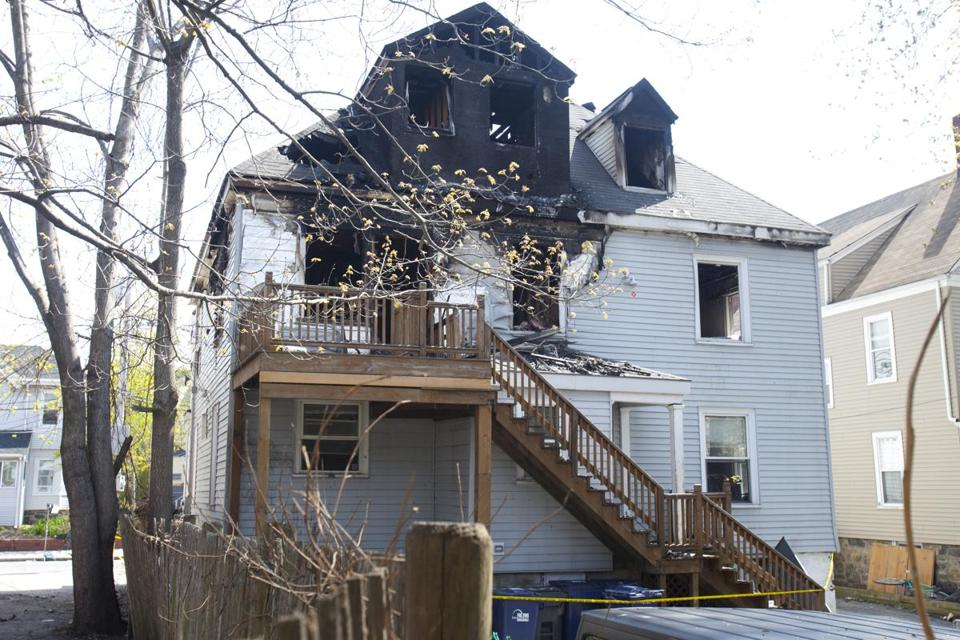The three-alarm fire on Sunday killed Binland Lee, 22.