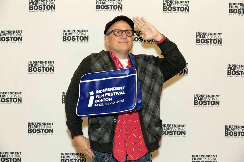Bobcat Goldthwait at the Independent Film Festival Boston.