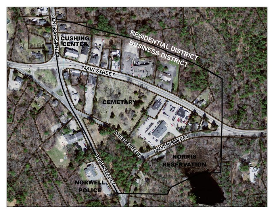 Proposed zoning changes attempt to help businesses in Norwell's business district.