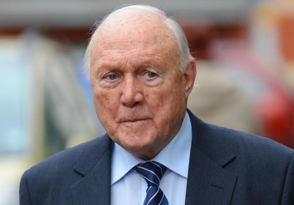 Stuart Hall was charged in an investigation into allegations that go back as long as 50 years.