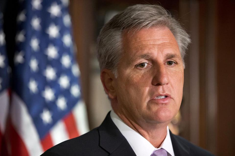 """The conference will unite around tax reform. The window is now,"" said Kevin McCarthy, Republican of California and House majority whip, who hosted the first ""listening session"" in his office."