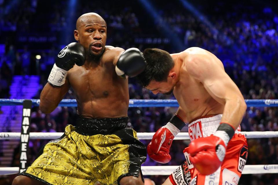 After a year off, Floyd Mayweather rolled to a unanimous decision over Robert Guerrero.