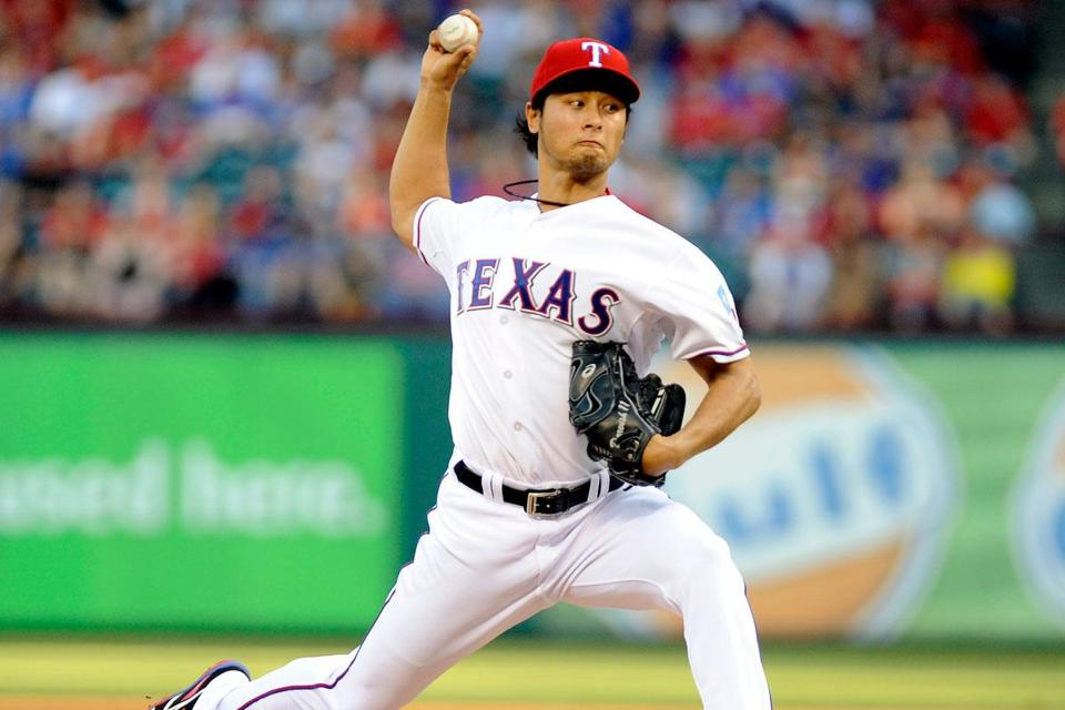 Rangers ace Yu Darvish brings a 5- 1 record to today's series finale vs. the Sox.
